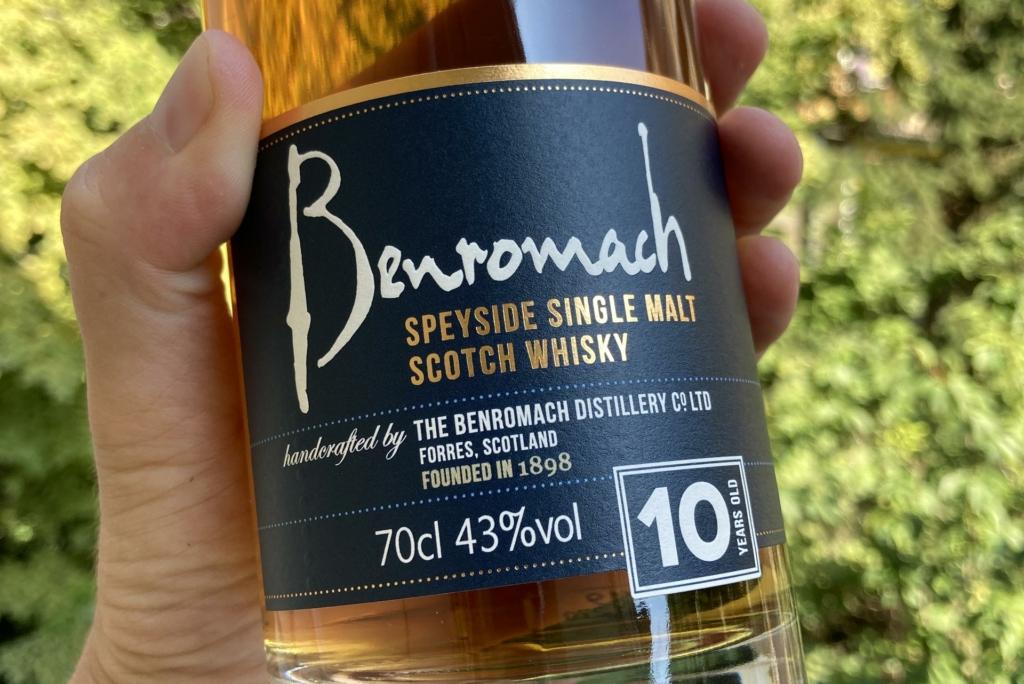 Whisky des Monats September - BenRomach 10 Jahre.