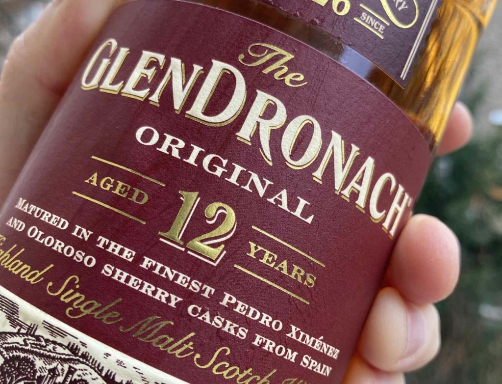 Unser Whisky des Monats November 2020 - Glendronach Original 12 Jahre.