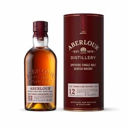Aberlour 12 Jahre Highland Single Malt Scotch Whisky – Double Cask Matured Scotch Single Malt Whisky – 1 x 0,7 L - 1