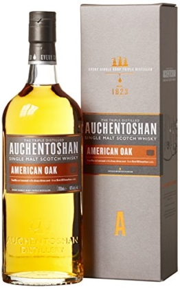 Auchentoshan American Oak Single Malt Scotch Whisky (1 x 0.7 l) - 1