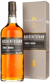 Auchentoshan Three Wood Single Malt Scotch Whisky (1 x 0.7 l) - 1
