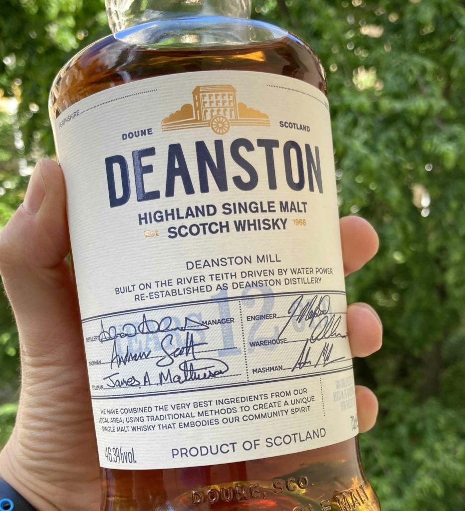Unser Whisky des Monats Juni 2021: der Deanston 12 Jahre.