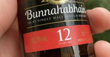 Unser Whisky des Monats Oktober 2021: der Bunnahabhain 12 Jahre.