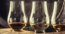 Whisky-Tasting wird vorbereitet.