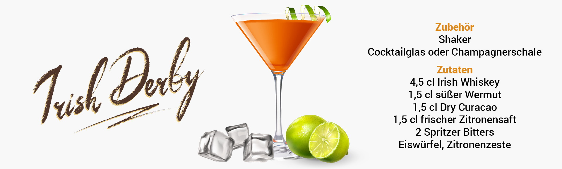Whisky Cocktail: Irish Derby Rezept + Tipp