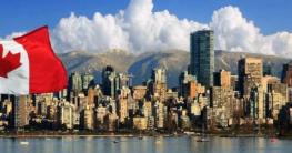 Panorama von Vancouver, Kanada.
