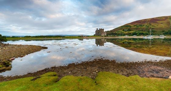 Panorama der Isle of Arran.
