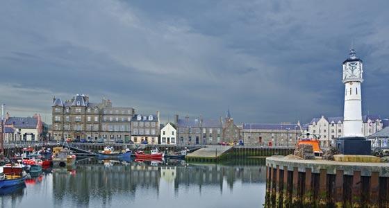 Hafen von Kirkwall, Orkney Inseln, Schottland.