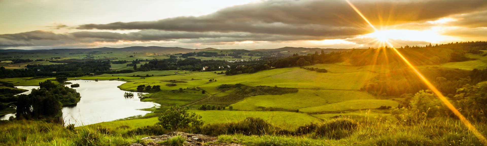 Sonnenuntergang auf der schottischen Insel Islay - Whiskywelt.net