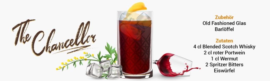 Whisky Cocktail: The Chancellor Rezept + Tipp