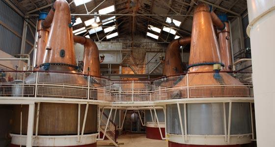 Whisky-Brennerei