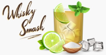 Whisky Cocktail: Whisky Smash Rezept + Tipp