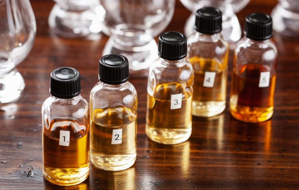 Eine gute und stimmige Auswahl an Whiskys für das Tasting ist enorm wichtig