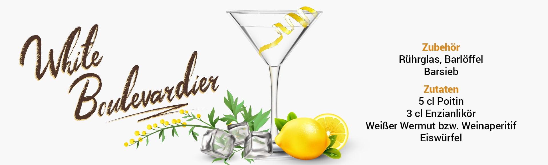 Whisky Cocktail: White Boulevardier Rezept + Tipp