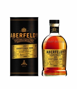 Aberfeldy 20 Jahre SMALL BATCH Exceptional Cask Serie Limitierte Auflage  Single Malt Whisky (1 x 0.7 l) - 1