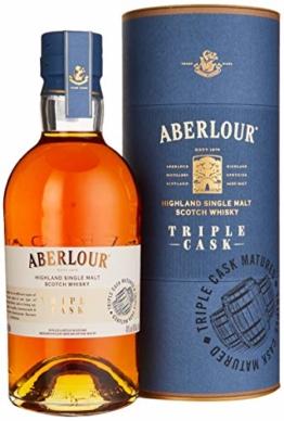 Aberlour TRIPLE CASK Highland Single Malt Scotch Whisky (1 x 0.7 l) - 1