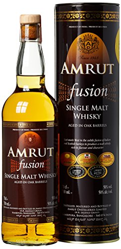 """Amrut Indian Single Malt Whisky """"Fusion"""", (1 x 700 ml), 1er Pack - 1"""