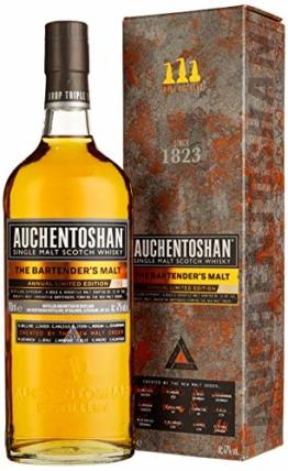 Auchentoshan The Bartender's Malt mit Geschenkverpackung Single Malt Whisky (1 x 0.7 l) - 1
