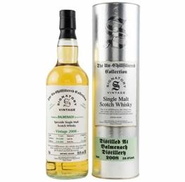 BALMENACH 2008 CASK STRENGTH 59.6 vol. alc. Signatory Vintage Un-Chillfiltered Collection Single Malt Whisky - 1