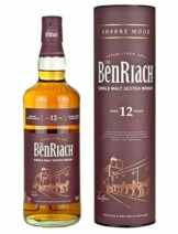 BenRiach Sherry Wood 12 Jahre 0,7 l Speyside Single Malt Scotch Whisky - 1