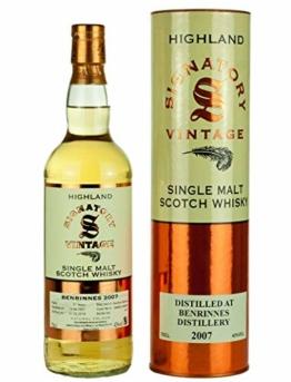Benrinnes 2007-11 Jahre - Signatory Vintage - Single Malt Whisky - 1
