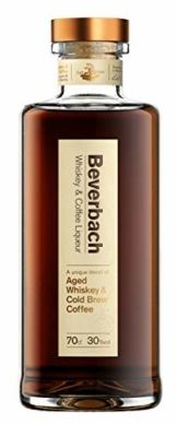 Beverbach Whiskey & Coffee Liqueur, 30% vol., Whiskey Blend aus Beverbach Whiskey und Arabica Cold Brew Coffee (1 x 0.7 l) - 1