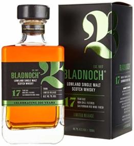 Bladnoch 17 Years Old Lowland Single Malt Scotch Whisky Whisky (1 x 0.7 l) - 1