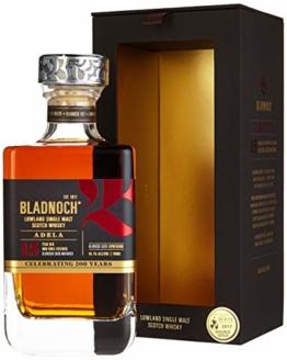 Bladnoch ADELA 15 Years Old Lowland Single Malt Scotch Whisky mit Geschenkverpackung (1 x 0.7 l) - 1