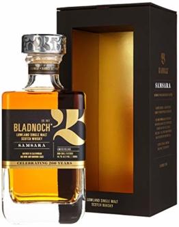 Bladnoch SAMSARA Lowland Single Malt Scotch Whisky mit Geschenkverpackung (1 x 0.7 l) - 1
