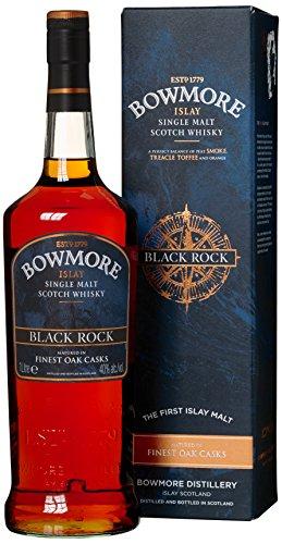 Bowmore Black Rock Whisky mit Geschenkverpackung (1 x 1 l) - 1