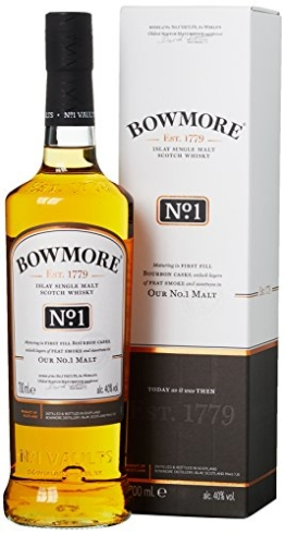 Bowmore No. 1 Single Malt Whisky (1 x 0.7 l) - 1