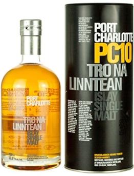 Bruichladdich Port Charlotte PC 10 Islay Cask Single Malt Whisky 0,7 Liter - 1