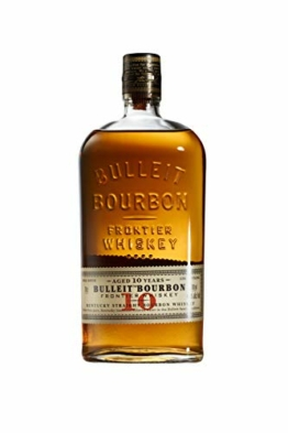 Bulleit Bourbon Frontier Whiskey - 10 Jahre (1 x 0.7 l) - 1