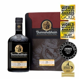 Bunnahabhain 25 Year Old Single Malt Scotch Whisky, 70 cl - 1