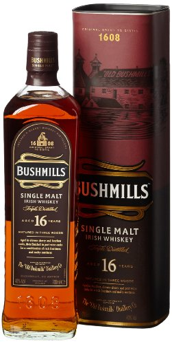 Bushmills 16 Jahre Single Malt Irish Whiskey (1 x 0.7 l) - 1