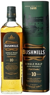 Bushmills Single Malt Irish Whiskey 10 Jahre (1 x 0.7 l) - 1
