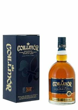 Coillmor Bavarian Single Malt Whisky Port Fassstärke 9 Jahre (700 ml) - 1