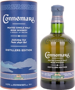 Connemara Distillers Edition - Peated Single Malt Irish Whisky (1 x 0.7 l) - 1