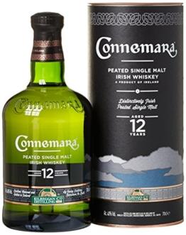 Connemara Peated Single Malt Irish Whiskey 12 Jahre (1 x 0.7 l) - 1