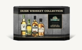 Cooleys Irish Whiskey Geschenkset mit Tyrconnell, Connemara, Kilbeggan Traditional and Single Grain, 4 x 0,05l (4er Pack) - 1