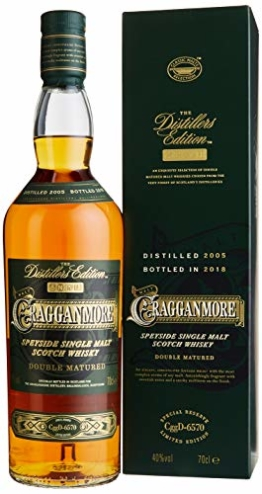 Cragganmore 12 Jahre Distillers Edition 2018 Single Malt Whisky (1 x 0.7 l) - 1