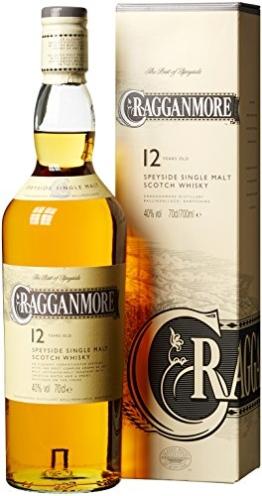Cragganmore 12 Jahre Speyside Single Malt Scotch Whisky (1 x 0.7 l) - 1