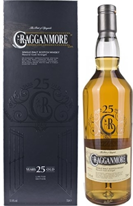 Cragganmore Single Malt 25 Years Old Limited Edition 2014 mit Geschenkverpackung  Whisky (1 x 0.7 l) - 1
