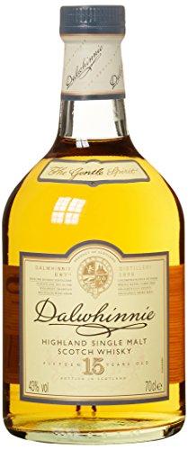 Dalwhinnie Highland Single Malt Scotch Whisky – 15 Jahre gereift – Aromen von Heidekraut und Honig – 1 x 0,7l - 2