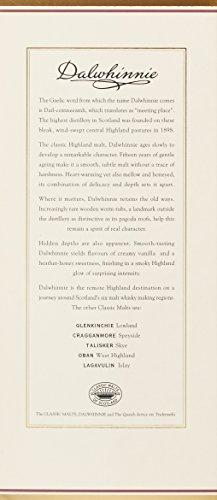 Dalwhinnie Highland Single Malt Scotch Whisky – 15 Jahre gereift – Aromen von Heidekraut und Honig – 1 x 0,7l - 5