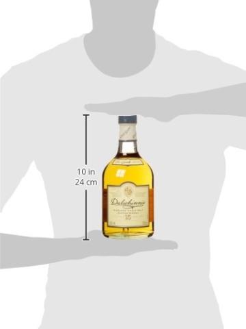 Dalwhinnie Highland Single Malt Scotch Whisky – 15 Jahre gereift – Aromen von Heidekraut und Honig – 1 x 0,7l - 7