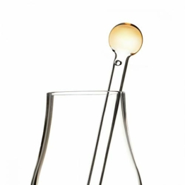 Eburya Whisky Wasser Pipette/Dropper aus Glas - Ball Top - Handgefertigt in Schottland - 1