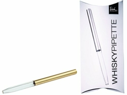 "Eisch - Gentleman, ""Whisky Pipette 999/2 gold"" 1 Whisky Pipette (86599902) - 1"