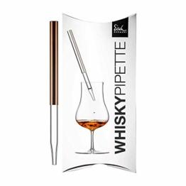 Eisch Gentleman Whisky Pipette im Geschenkkarton (Kupfer) - 1
