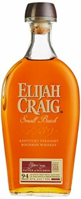 Elijah Craig Small Batch Kentucky Straight Bourbon Whiskey mit Geschenkverpackung (1 x 0,7 l) - 1
